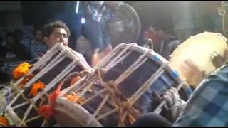Kharva samaj Mandvi - Dhol,  Playing by Kharva Bro