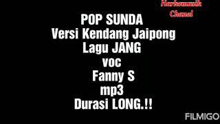 Jang Fanny S Versi Kendang Jaipong