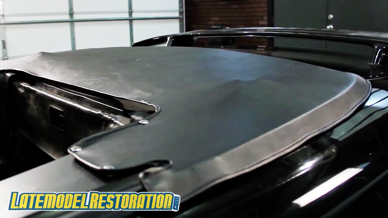 Mustang Convertible Top Boot Review Install 94 04 Convertible Youtube