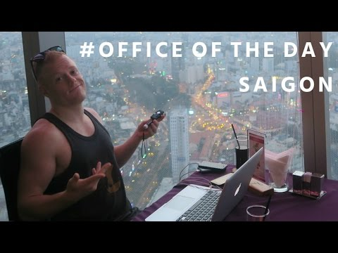 Working from the Highest Cafe in Saigon ☕️  Bitexco Tower Vietnam | Digital Nomad Travel Ho Chi Minh