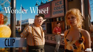 WONDER WHEEL | Clip [HD] | 'Boardwalk' | In Cinemas Now