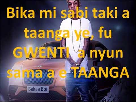 LIL PRINCE _ KAI MI PAA _  lyrics