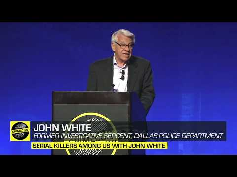 Serial Killers Among Us with John White at CrimeCon 2019