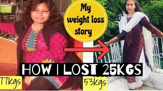 5 Fast Weight Loss Tips : How I lost 25kgs | My weight loss journey in hindi | Azra Khan Fitness