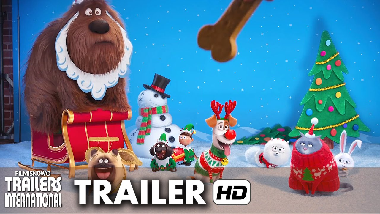 pets   a vida secreta dos bichos trailer feliz natal