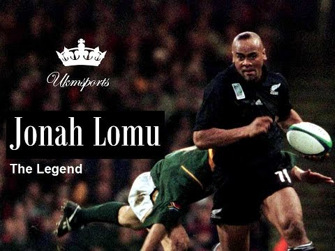 Jonah Lomu - The Legend | Tribute