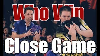 Close Game Bowling Game - Scott Norton VS. Sean Rash
