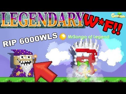 RIP 6000 WLS FOR ONE STEP!! HOW??! Legendary Blade Ep4  GrowTopia