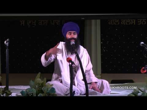 "Bhai Sukha Singh (UK) - ""ਆਸ: Trust in God"" (Day 1 of 3) - Katha in English & Punjabi"