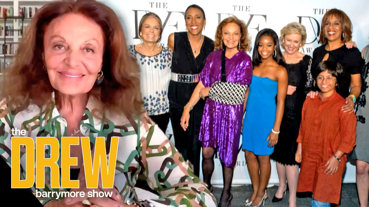 Diane von Furstenberg's Son Actually Inspired Her Awards Recognizing Powerful Women