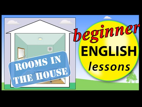 Rooms in English | Beginner English Lessons for Children
