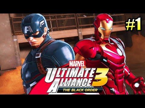 Marvel Ultimate Alliance 3 #1 — Настоящий Эксклюзив Свича {Switch} прохождение часть 1