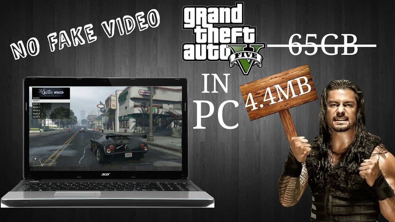 HOW TO DOWNLOAD GTA 5 FOR PC IN JUST 4 4MB by LAKKI Kumar
