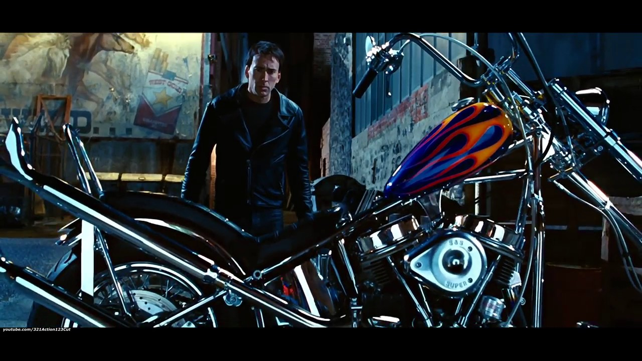 face to face with demon ghost rider2007 movie clip2