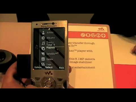 Sony Ericsson W995 Walkman Phone - Hands-On @ MWC 2009