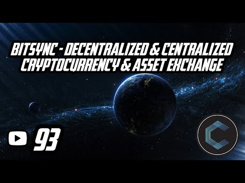 BitSync - World's First Decentralized & Centralized Cryptocurrency & Asset Exchange