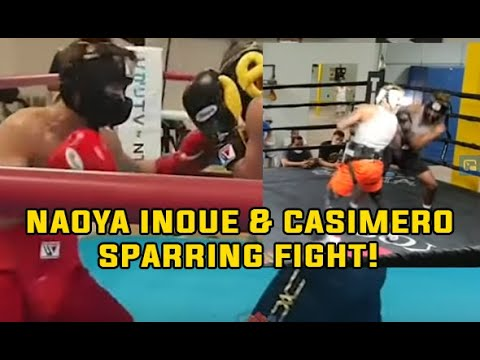 NAOYA INOUE VS John Riel CASIMERO SPARRING expose who will win