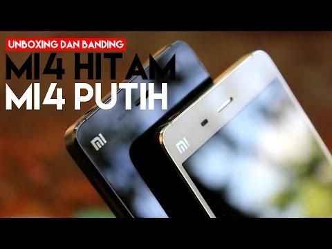 Unbox Xiaomi Mi4 + Adu Keren Mi4 Hitam Vs Mi4 Putih