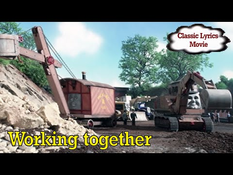 TTTESong : Working together (Jack and the Pack Remake - Classic Singalong lyrics)