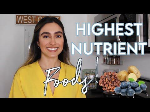 7 Most Nutrient Dense Foods