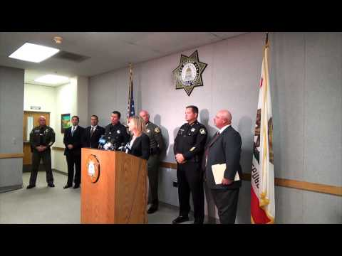 Sacramento County Sheriff and District Attorney Joint Press Conference (10/28/2014)
