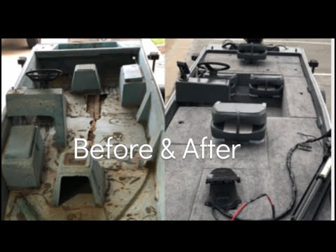 Boat Restore & Modifications| Start To Finish| Before & After