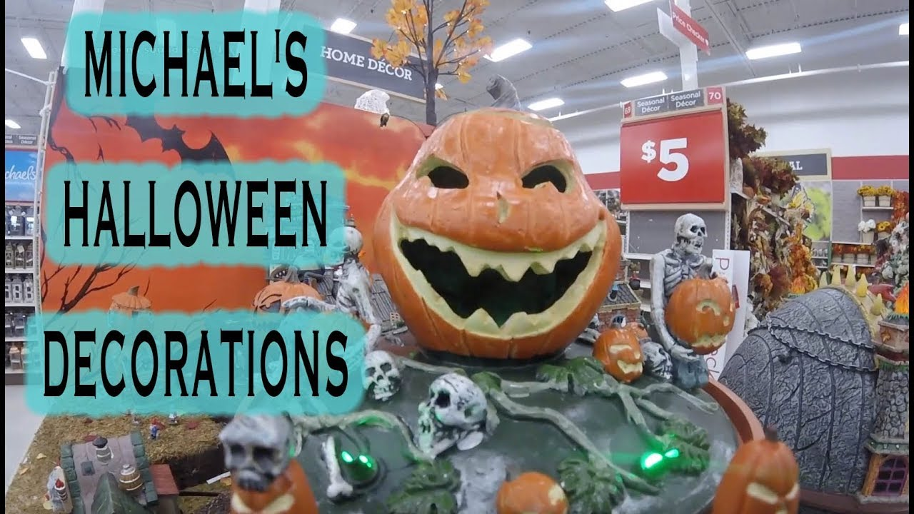 michaels halloween decorations 2018 so far