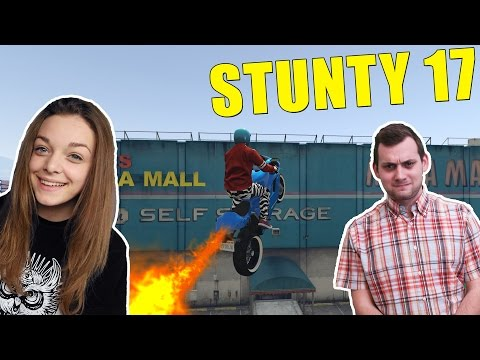 Grand Theft Auto 5 - STUNTY - Sestra Stuntuje Druhý Krát #17 /w Sestra