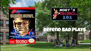 Mort's Tecmo 101 Video Series - Defend Bad Plays
