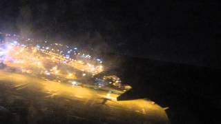 طيران ناس إقلاع ليلاً من مطار الخرطوم / NAS AIR Takeoff KRT