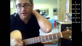 "How to play ""Great Balls Of Fire"" by Jerry Lee Lewis on acoustic guitar Mp3"