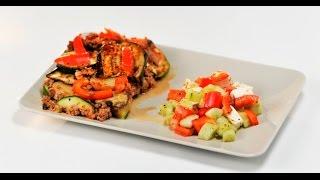Овощная запеканка с мясным фаршем | Правило тарелки