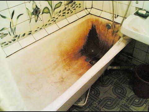 ★ Белоснежная ванна за 5 минут. Смешай 2 ст. л. кальцинированной и 2 ст. л. питьевой соды.