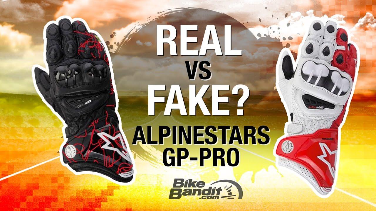Alpinestar Motorcycle Gloves >> Alpinestars Motorcycle Glove Breakdown - Real vs. Fake | BikeBandit.com - YouTube