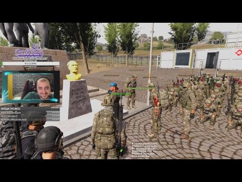 ARMA 3 Askeri Jandarma Türk Oyunu Şüpheliyi aldık Helikopter Düştü