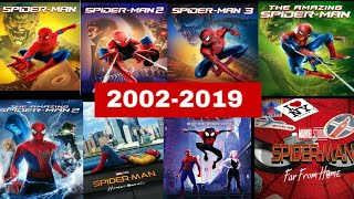 ALL SPIDER-MAN MOVIES TRAILER (2002-2019)