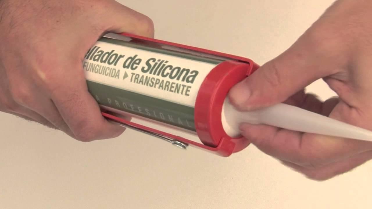 Sellador de silicona transparente parsecs en cartucho - Sellador de silicona ...