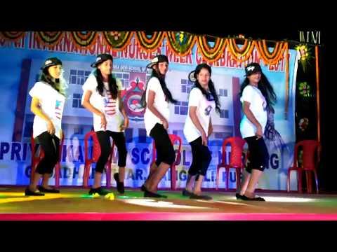ek pardesi mera dil legaya dance performed by students of priyanka devi school of nursing puri