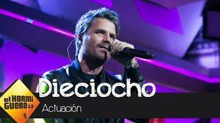Dani Martín canta en exclusiva su nuevo single 'Dieciocho' en directo - El Hormiguero 3.0