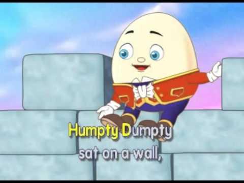Sing Along Nursery Rhymes With Hoppen Humpty Dumpty