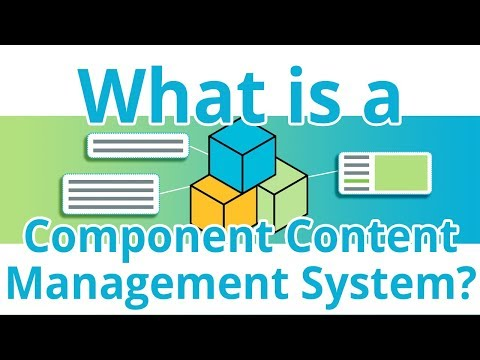 What is a Component Content Management System (CCMS)?