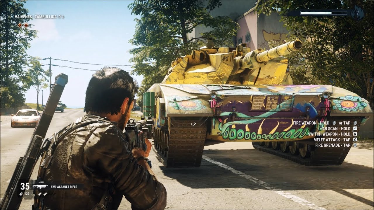 Just Cause 4 - Warchief Assault Tank - Open World Free ...