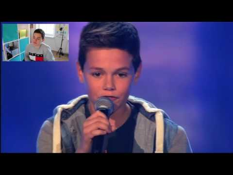 REACTING ON MY VOICE KIDS BLIND AUDITION | DEREKJARMO