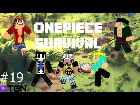 Minecraft Mod วันพีช เอาชีวิตรอด #19 หมัดเพลิง vs มังกร [END]