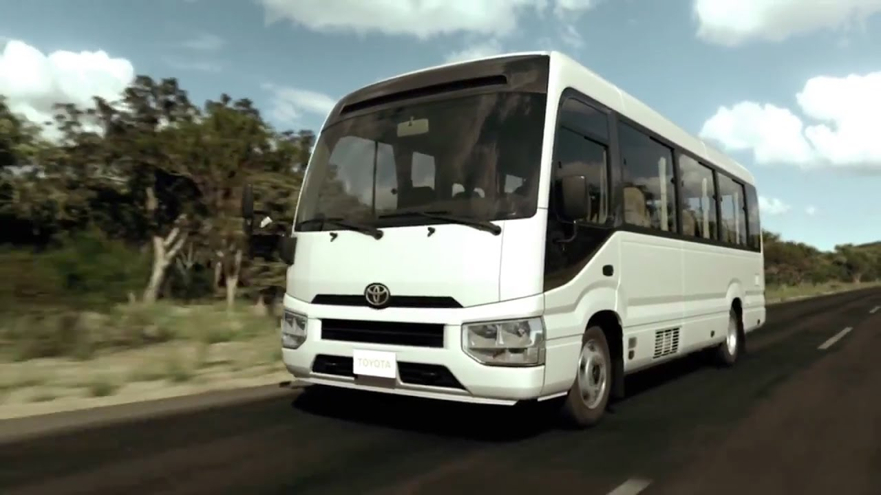 The 2017 Toyota Coaster Youtube