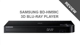 Samsung BD-HM59C Blu-ray Player Review