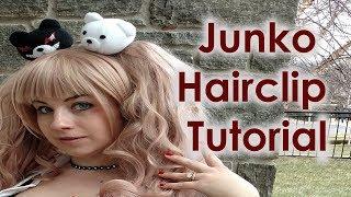 Junko Enoshima Cosplay Tutorial Part 7: Monokuma Hairclips