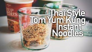 [開箱#39]曼谷 Big C 的泰式酸辣鮮蝦泡麵(Tom Yum Kung)、泰式碎肉杯麵開箱試吃(Thai Style Nissin Instant Noodles)