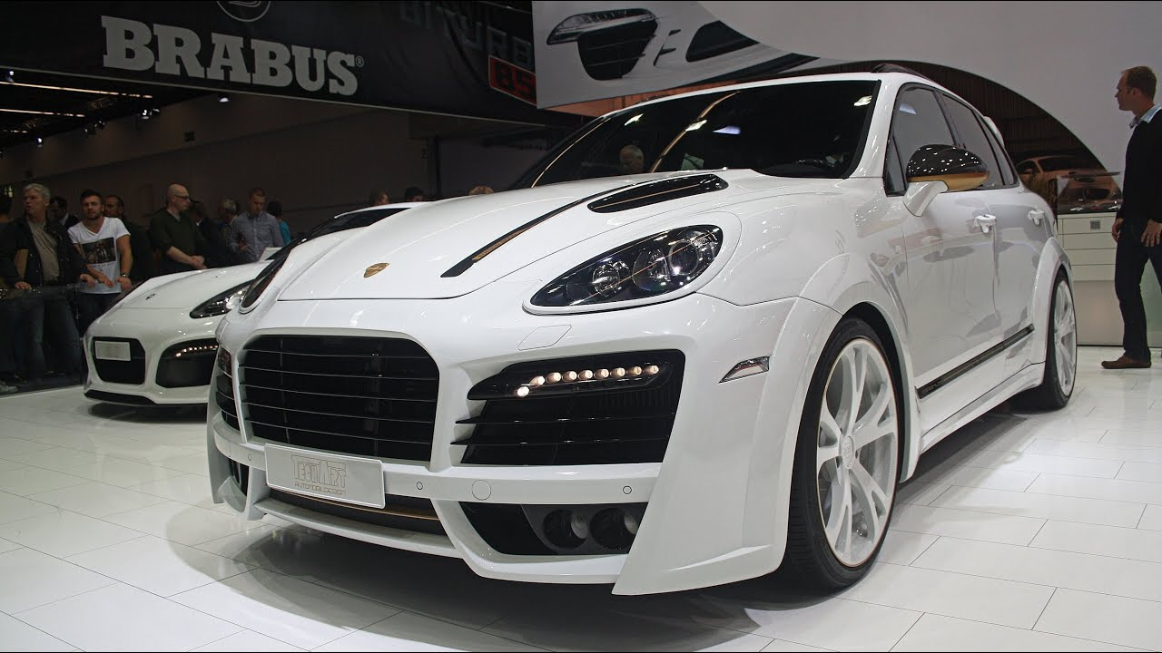 2013 Porsche Cayenne TechArt Magnum 'Edition Gold' - IAA Frankfurt