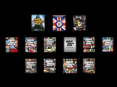 All Grand Theft Auto theme songs (1997-2013)